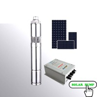 Submersible solar water pump 350W