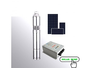 Submersible solar water pump 600W